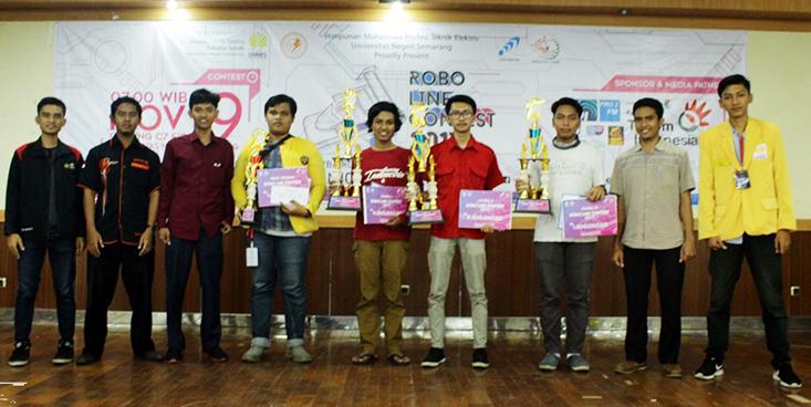 Tim ICHIBOT G-Force UNY Juarai Lomba Robot Tingkat Nasional di UNNES