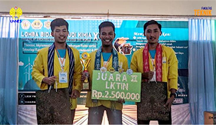Mahasiswa UNNES Juara LKTI N di Universitas Tanjungpura