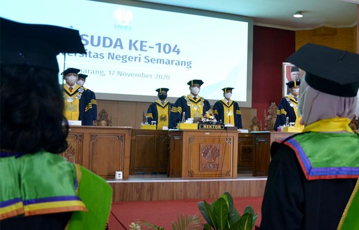 UNNES Luluskaan 1314 Wisudawan, Siapkan SDM Unggul Menatap Masa Depan