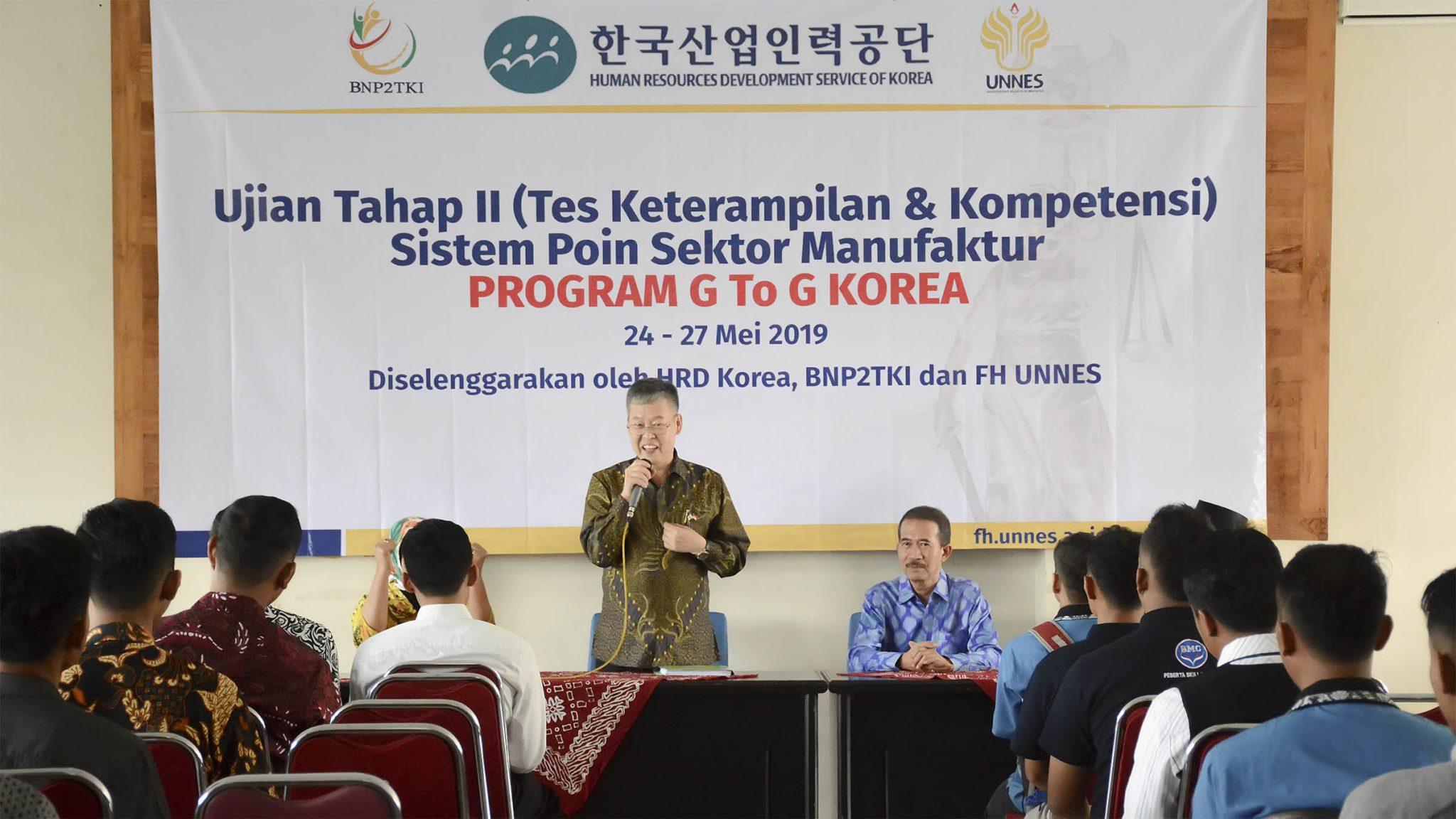 Esok Pagi, 1.944 Calon TKI Korea Selatan Ikuti Uji Keterampilan