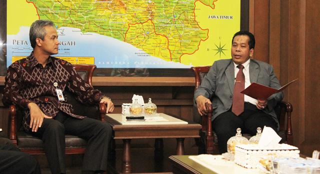 Gubernur: Kerja Sama dengan Unnes, Lingkungan Oke, Budaya Oke