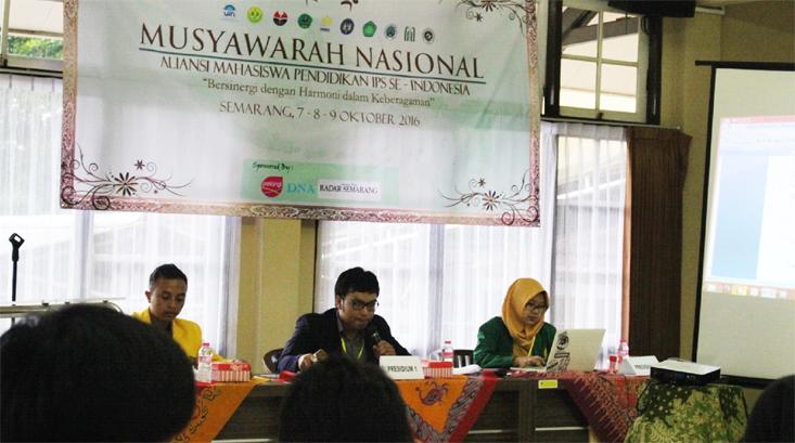 HIMA Prodi Pendidikan IPS Unnes Gelar Munas Aliansi Pendidikan IPS Se-Indonesia