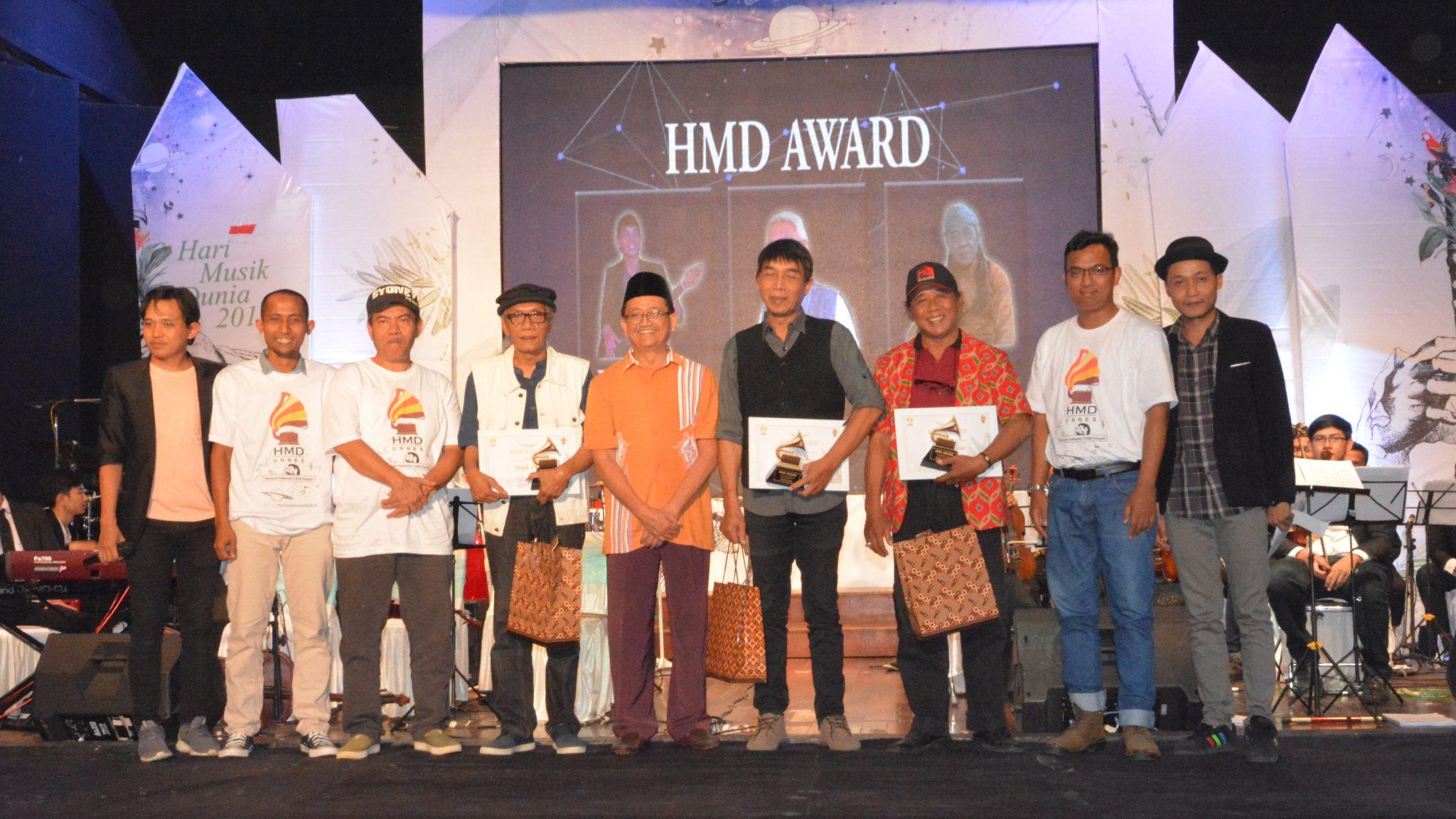 UNNES Persembahkan 3 Penghargaan Bagi Seniman Musik Berdedikasi Semarang