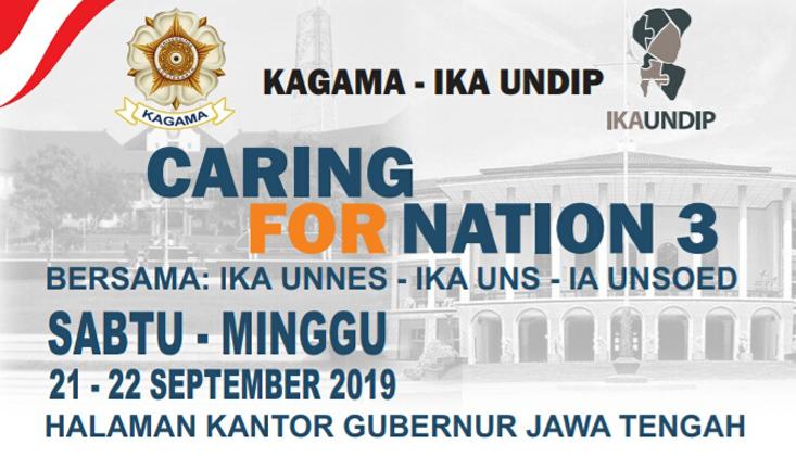 IKA UNNES Ajak Alumni UNNES Ikuti Caring for Nation III Untuk SDM Unggul