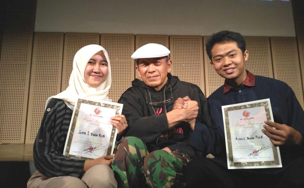 Mahasiswa UNNES Juara Lomba Puisi Tingkat Nasional