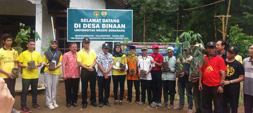 Teguhkan Konservasi, Bidang Kemahasiswaan Tanam 750 Pohon di Magelang