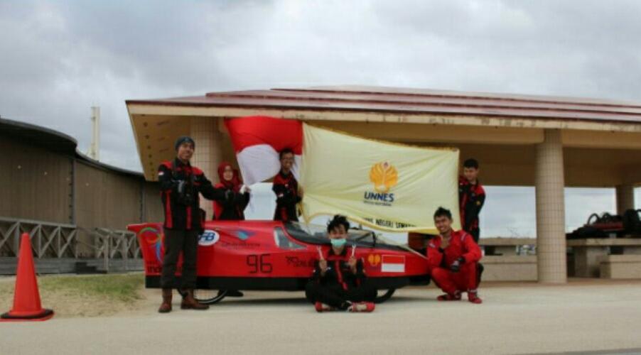 Tim Pandawa UNNES Tampil Maksimal di Jepang