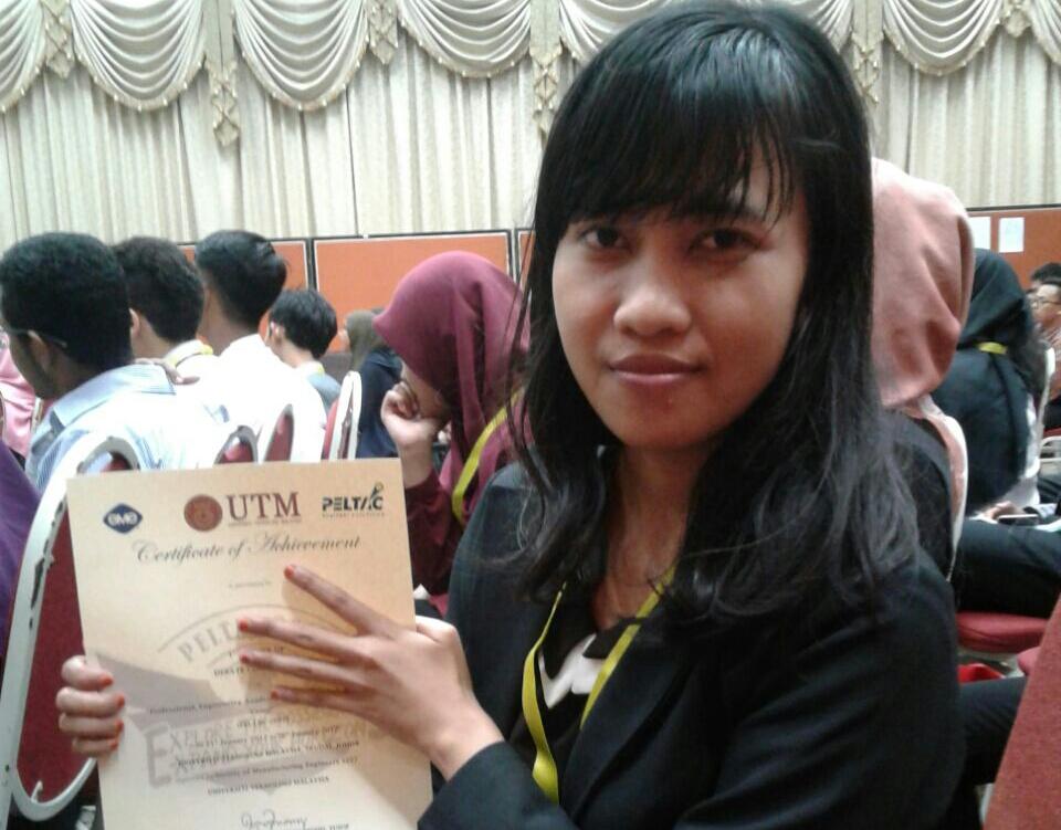 Nuriyanti Juara II PELTAC di Malaysia
