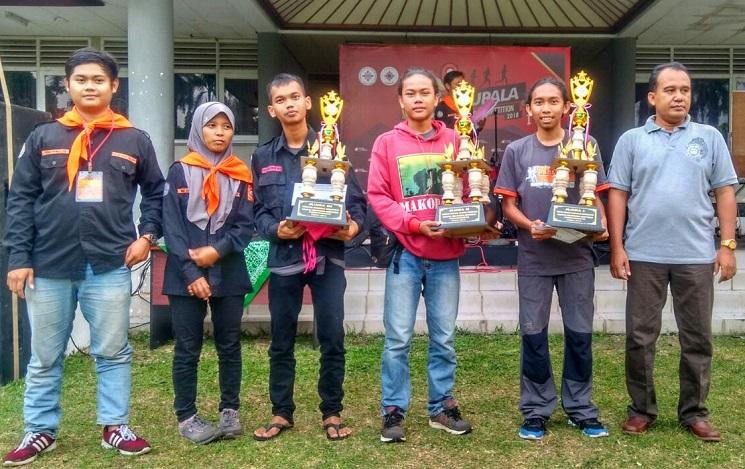 KSG-SAC Juarai Lomba Orienteering Tingkat Nasional