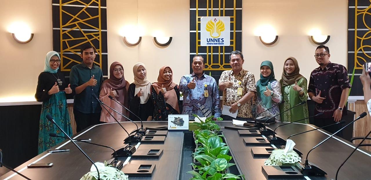 UNNES Lepas Empat Mahasiswa Program Kredit Transfer dari Universiti Malaysia Sabah