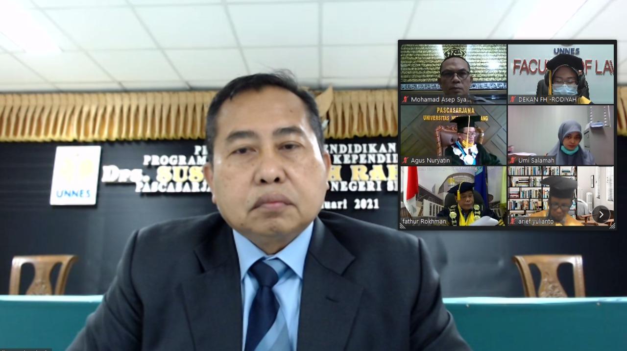Kombes. Pol Susilo Teguh Raharjo Raih Gelar Doktor di UNNES Berkat Perhatiannya Pada Pendidikan Karakter Taruna Akademi Kepolisian