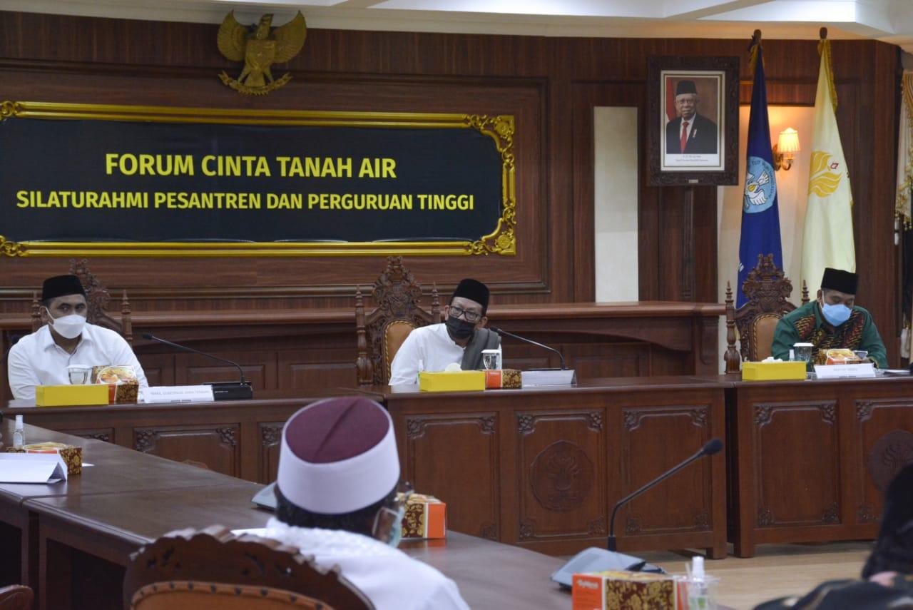 UNNES Jadi Tuan Rumah Silaturahmi Pesantren-Perguruan Tinggi, Sepakat Moderasi Pendidikan Agama