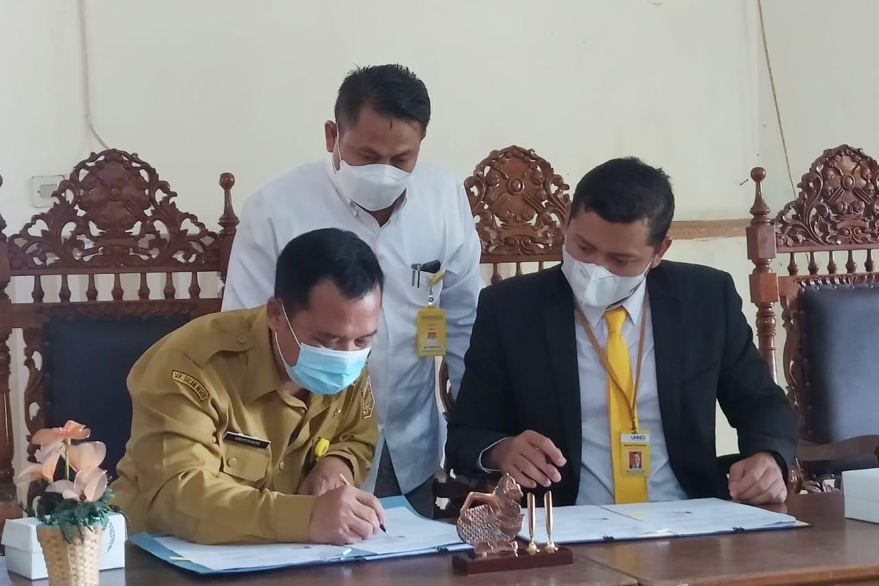Gandeng UNNES, Dinas Perdagangan Koperasi dan UKM Kabupaten Wonosobo Perkuat Data UMKM