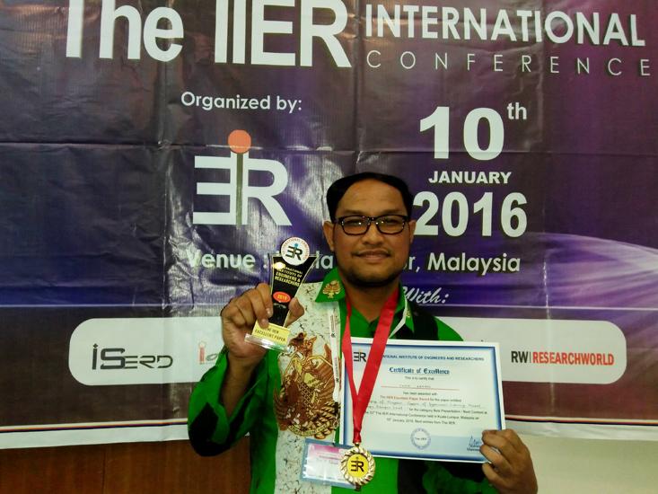 """Dosen Unnes Peroleh Penghargaan """"Best Paper"""" di Kuala Lumpur"""