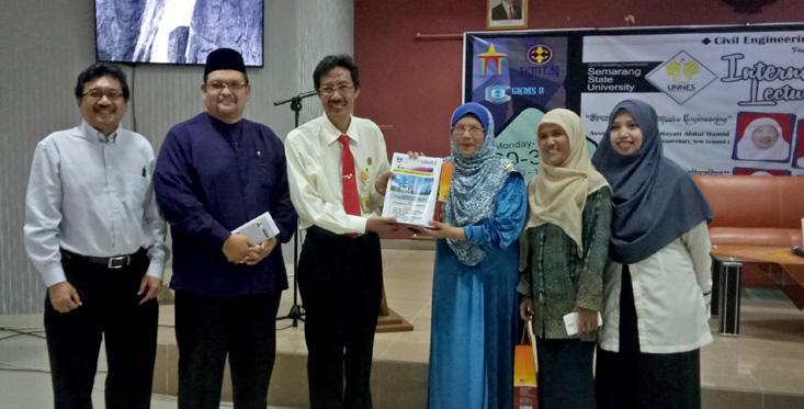 Gebyar Kreativitas Mahasiswa Sipil UNNES Hadirkan International Lecturer