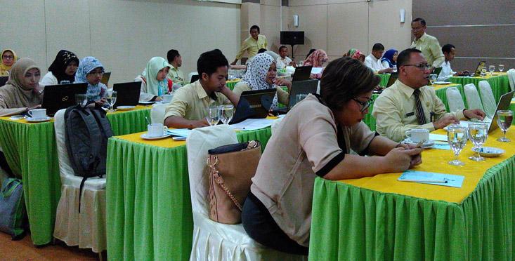 BAPK Selenggarakan Workshop Penyusunan dan Penelaah Prediksi PNBP 2017