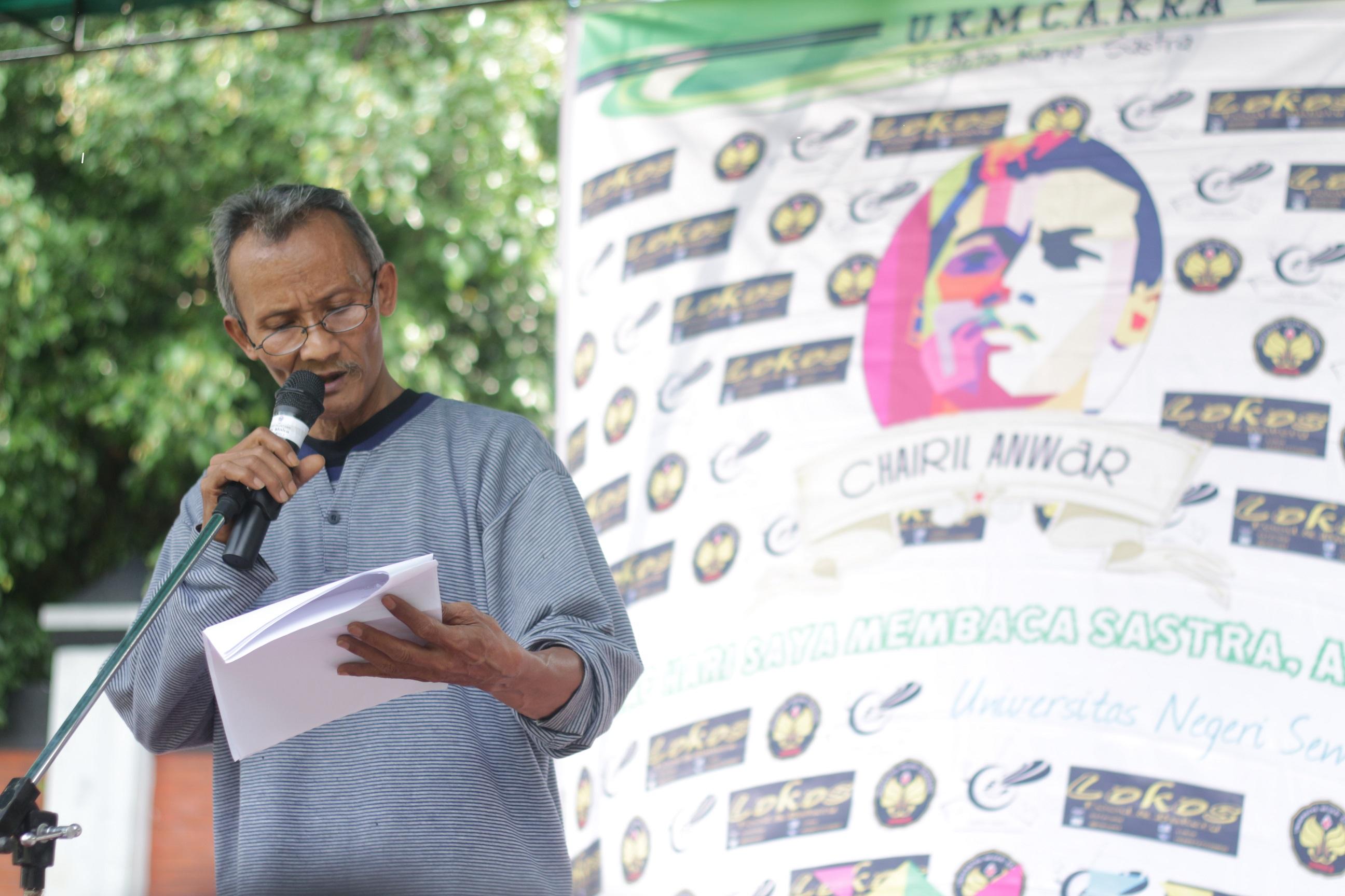 Mendoa Puisi Untuk Chairil Anwar