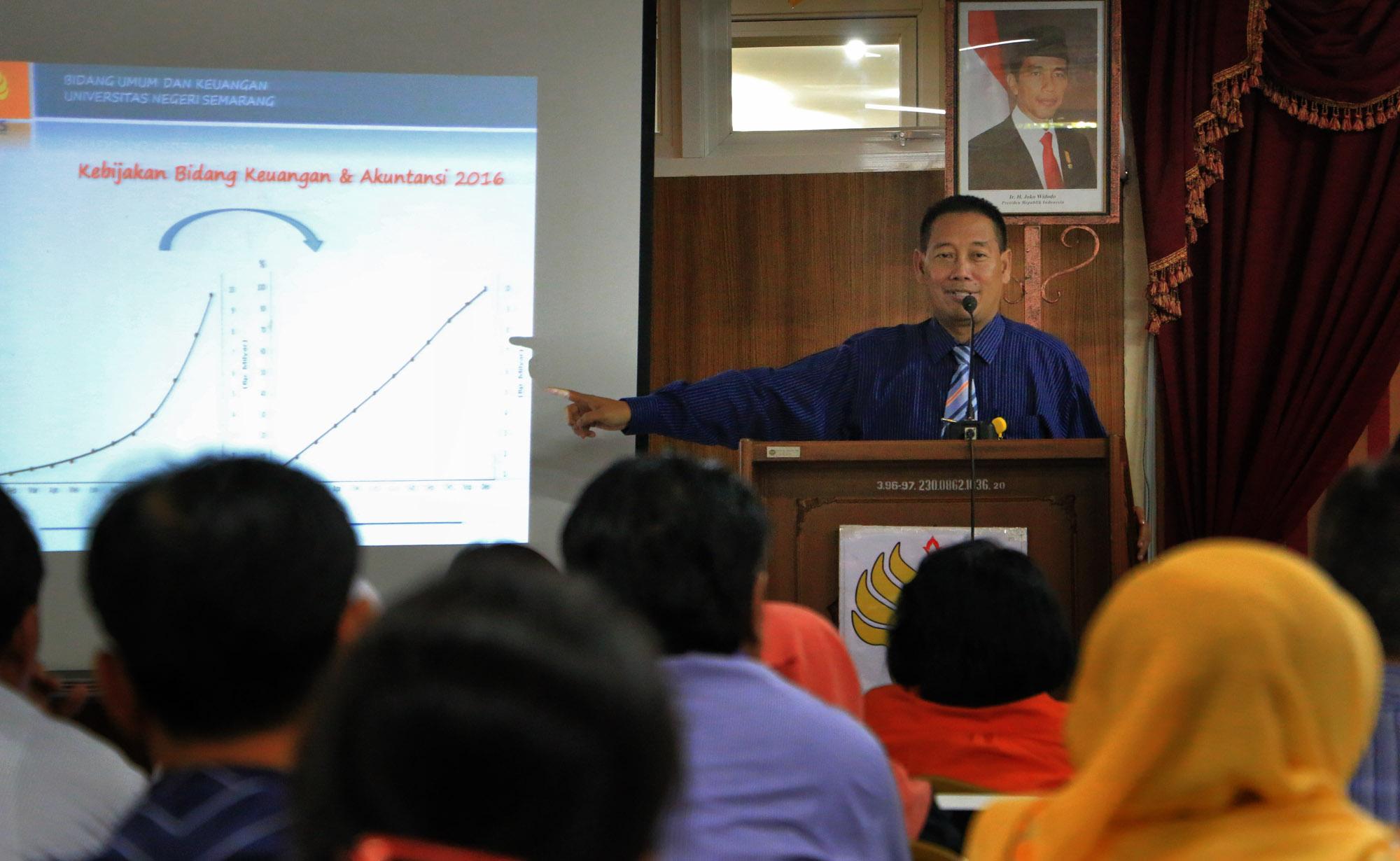 BPK Unnes Gelar Bimbingan Teknis Perencanaan Keuangan