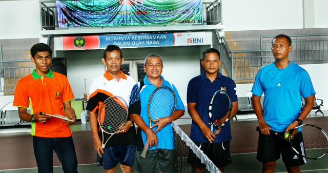 Tenis Persahabatan Unnes, Akmil, dan Siwo PWI