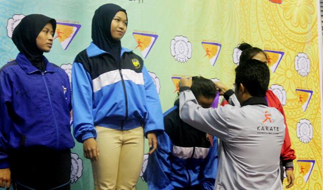 Karateka  Unnes Raih Emas Tingkat Asia Tenggara