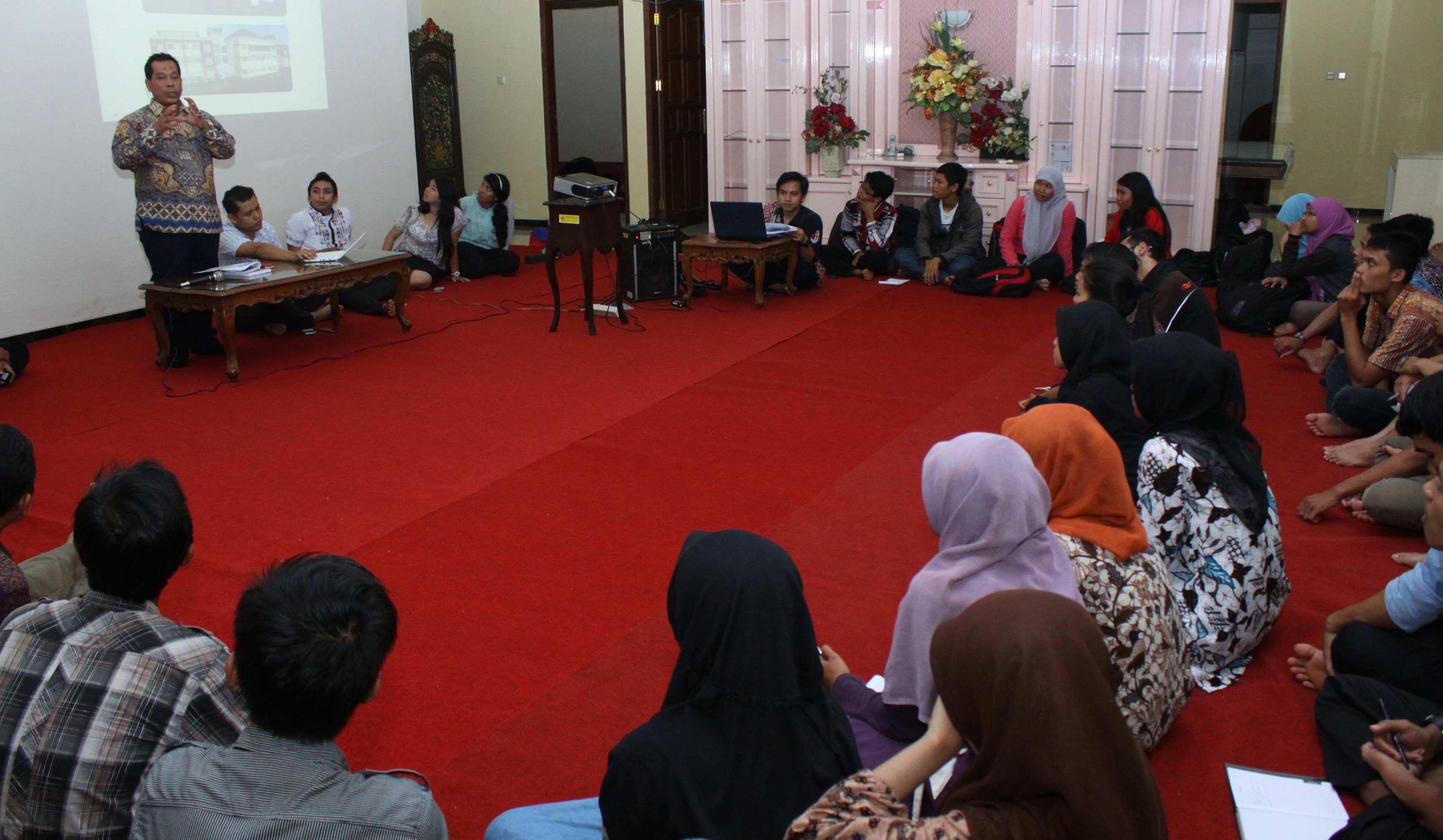 Workshop Lembaga Kemahasiswaan dan UKM