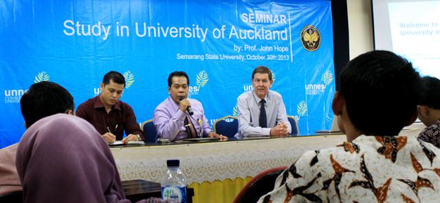 Prof Fathur Diminta Bicara Multikultur di Auckland