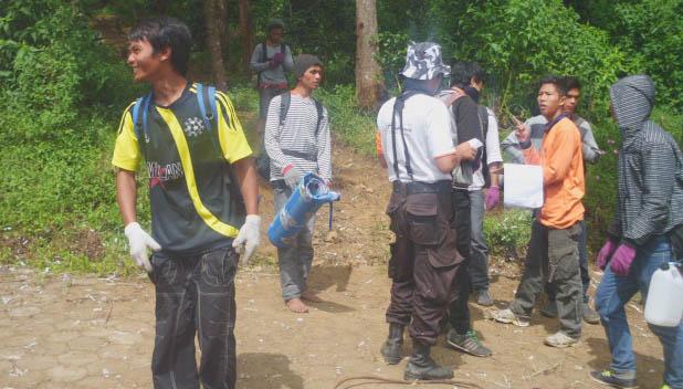 """Jaga """"Selikuran"""", SAR Unnes Siaga di Gunung Sumbing"""