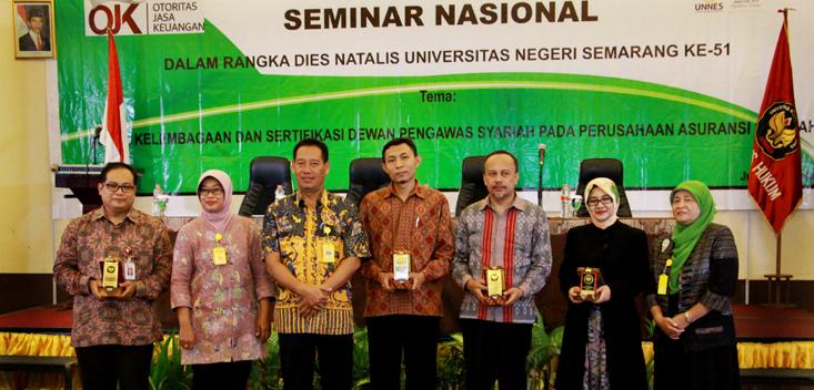 FH Resmikan Kelompok Studi Hukum Ekonomi Syariah