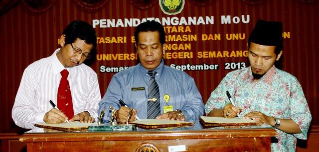 IAIN Antasari Banjarmasin dan UNU Cirebon Belajar ke Unnes