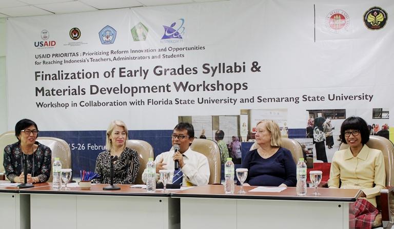 Unnes, FSU, dan USAID Komitmen Kembangkan Literasi
