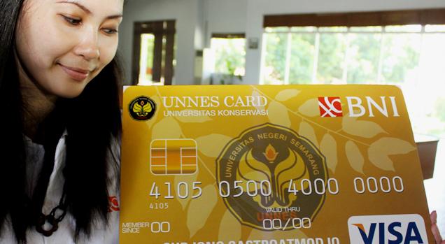 BNI Luncurkan Unnes Card