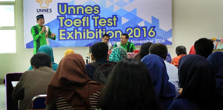 324 Mahasiswa UNNES Ikuti UNNES Toefl Test Exhibition 2016