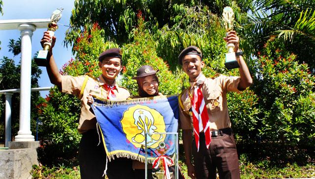 Unsoed Juara Umum Senior Rovers Scout Creativity Unnes