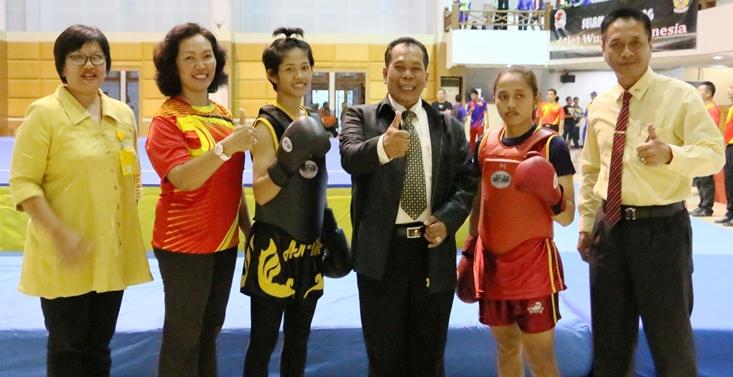 Rektor Unnes Buka Kejuaraan Wushu Sanda Nasional Terbuka 2016