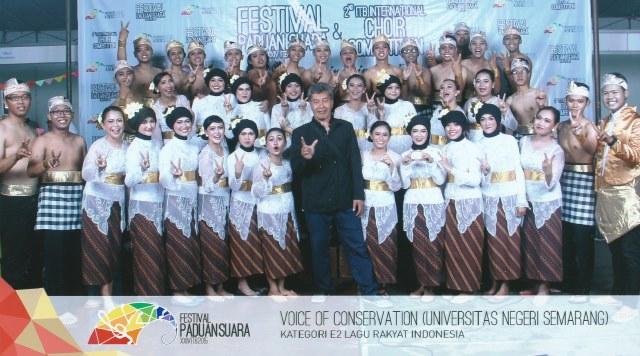 Voice of Conservation  Peroleh Medali Perak