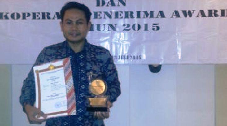 KPRI Handayani Terpilih Sebagai Koperasi Berprestasi Nasional 2015