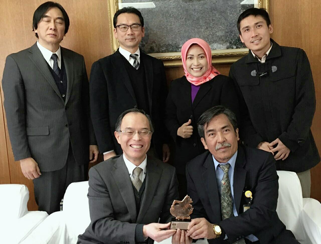 Dosen Biologi UNNES Guest Lecture Di Jepang