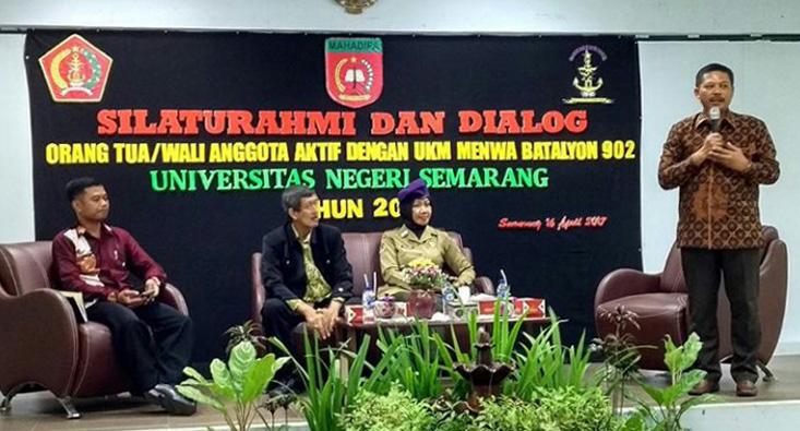 UKM Menwa Silaturahmi dengan Orang Tua Anggota Aktif