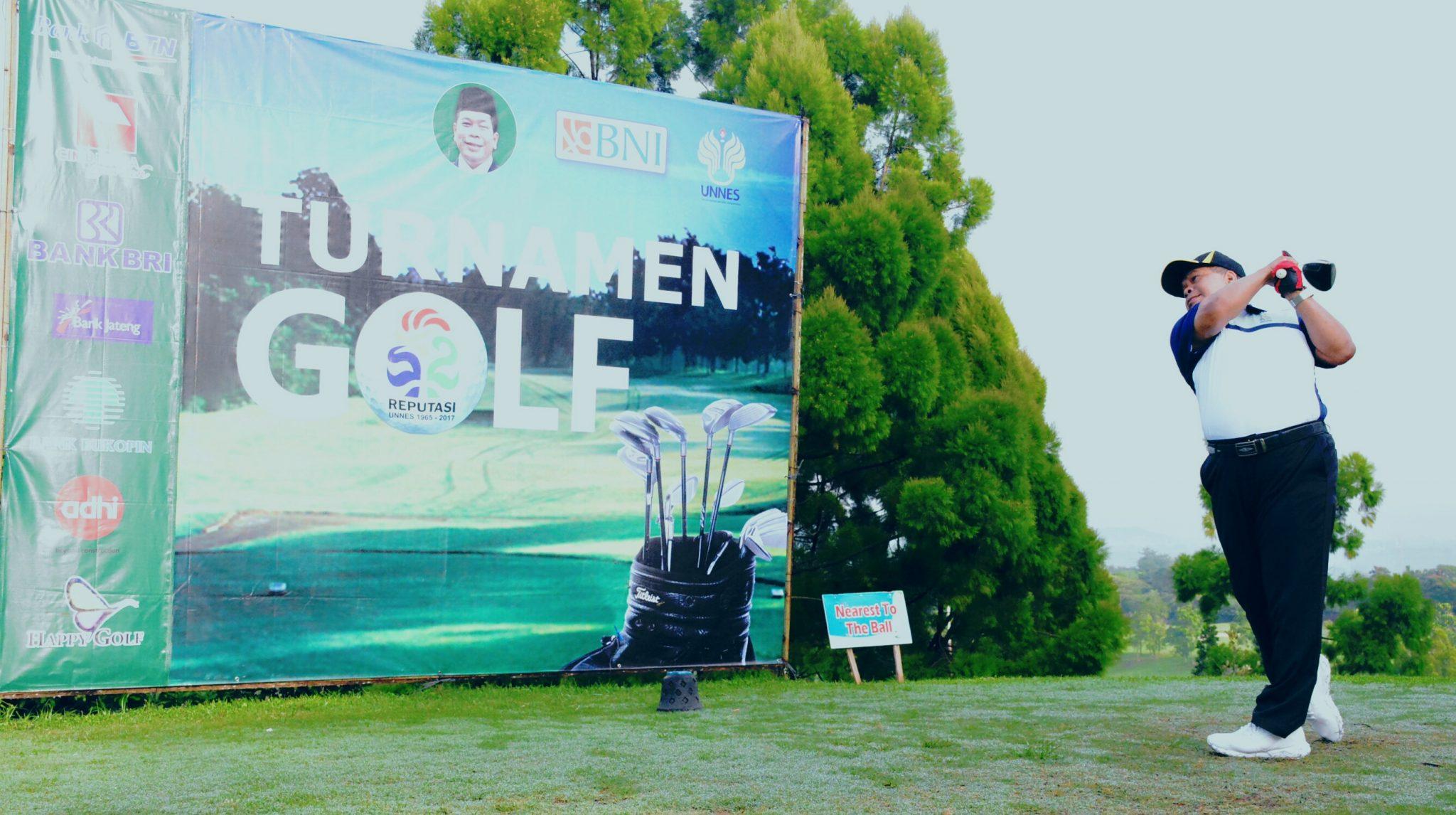 Turnament Golf UNNES Kembali Digelar Di Gombel Golf