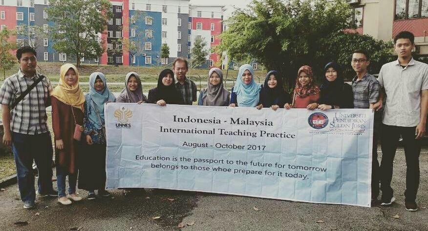 Punggawa PPL Antar Bangsa Di Malaysia Resmi Diterima Oleh Sekolah Mitra