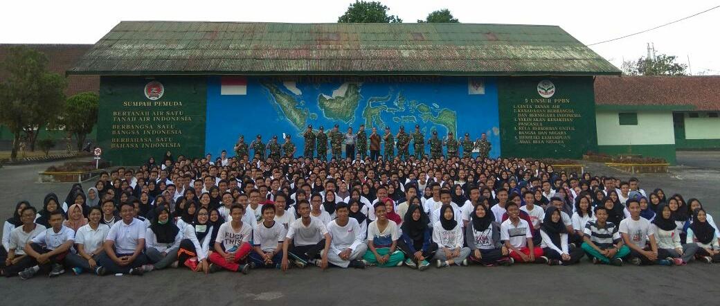 Mahasiswa UNNES Antusias Menjalankan Program Bela negara