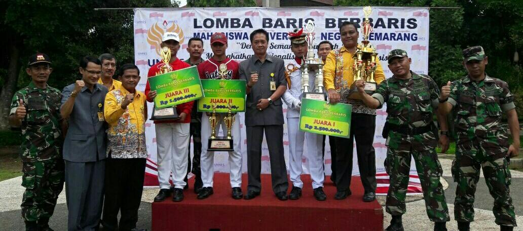 Fakultas Teknik Juarai Lomba Berbaris Peringati Sumpah Pemuda