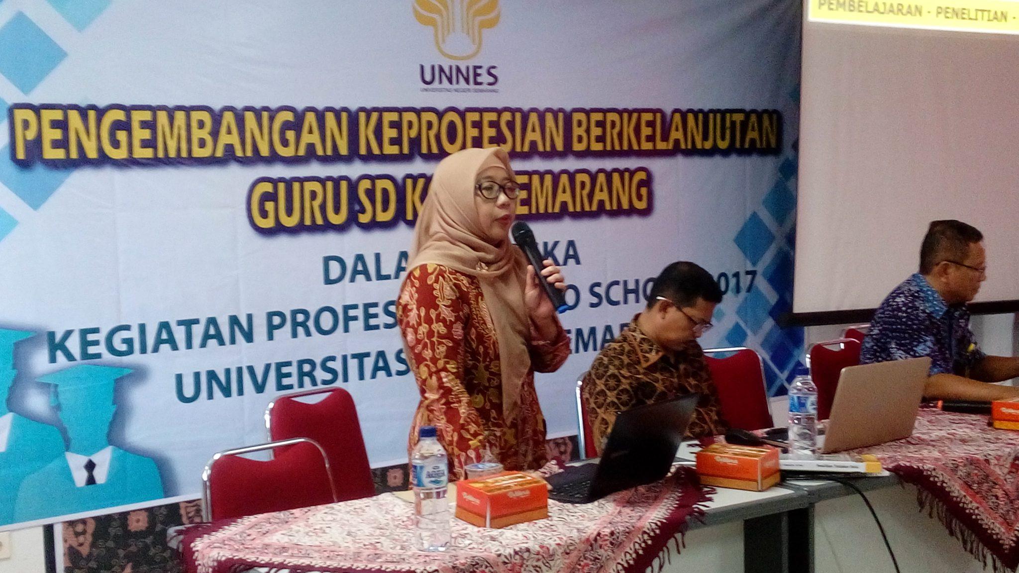 LP3 UNNES selenggarakan Professors go to school di Labschool UNNES
