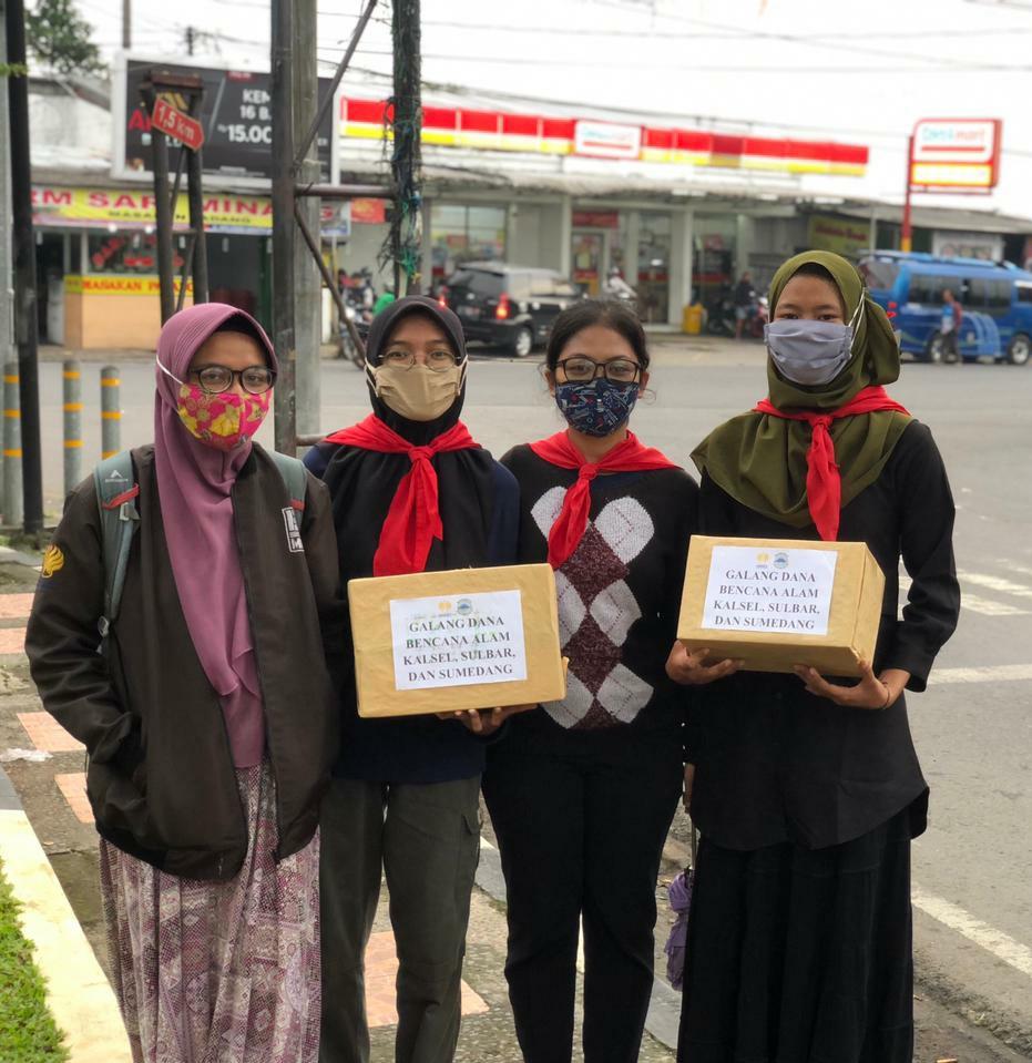 Galang Dana, Aksi Peduli Sosial MAHAPALA UNNES Bagi Korban Terdampak Bencana.