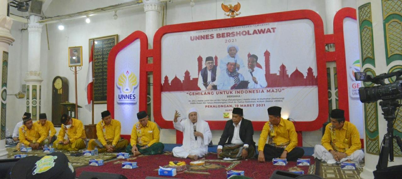 UNNES Bersholawat, Gemilang Untuk Indonesia Maju