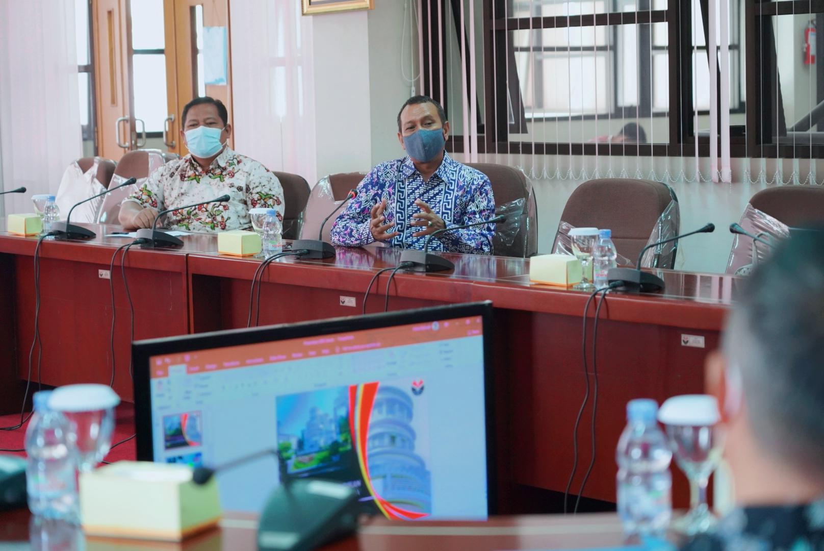 Persiapan PTNBH,  UNNES Benchmarking Ke UPI