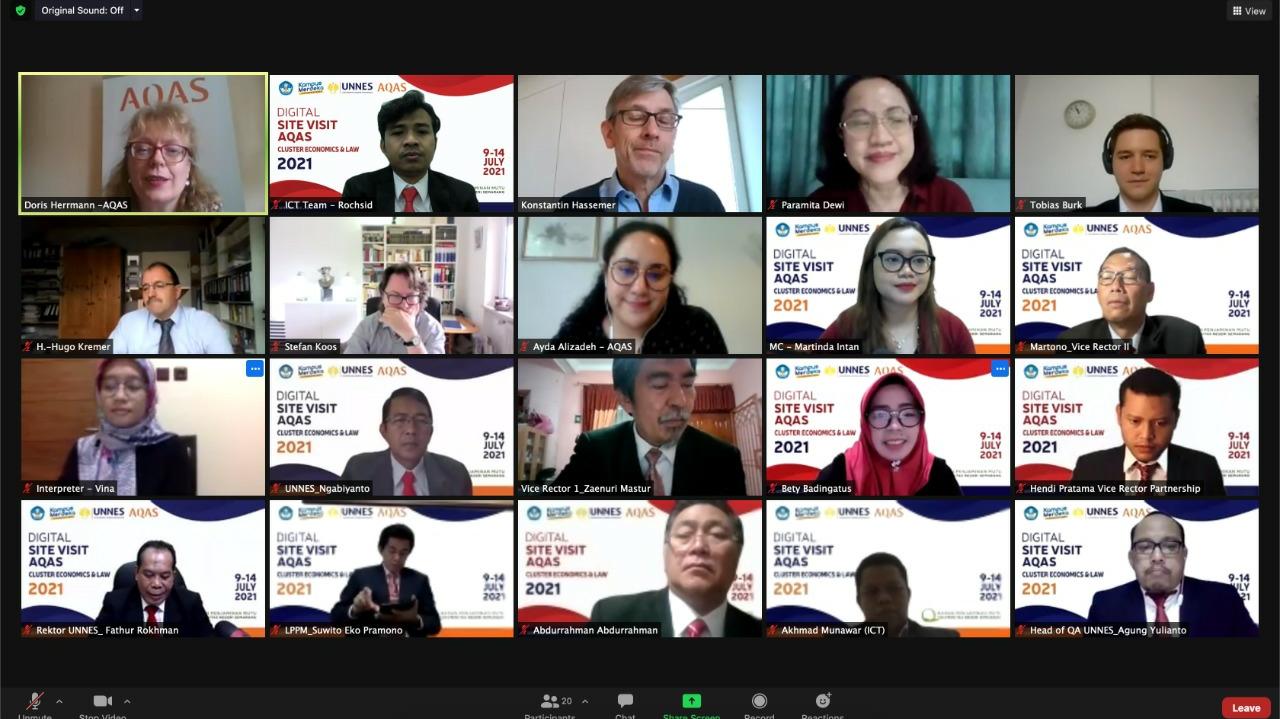 UNNES Kembali Ajukan Empat Prodi Mendapat Akdreditasi Internasional AQAS