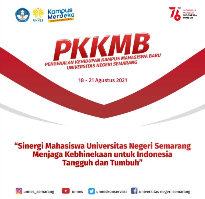Rektor Ajak Mahasiswa Baru Ikuti Program PKKMB UNNES 2021