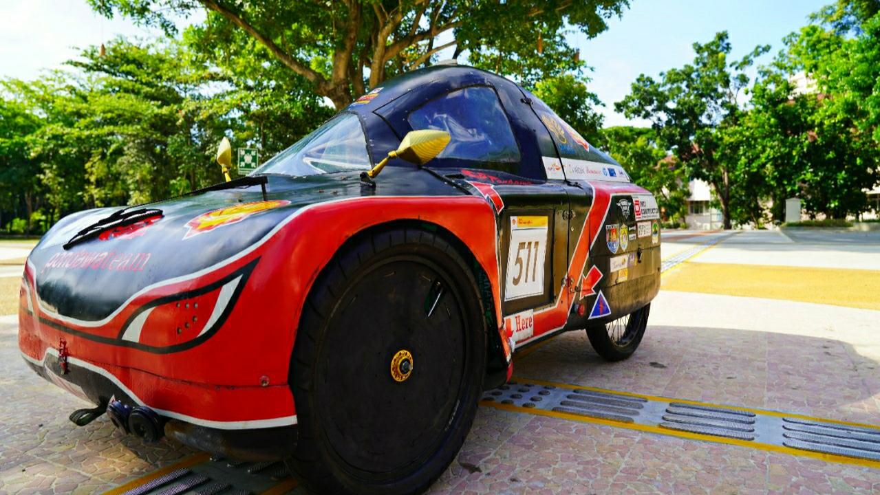 Mobil Pancaka Mahasiswa FT UNNES Berhasil Lolos Final Kontes Mobil Hemat Energi 2021