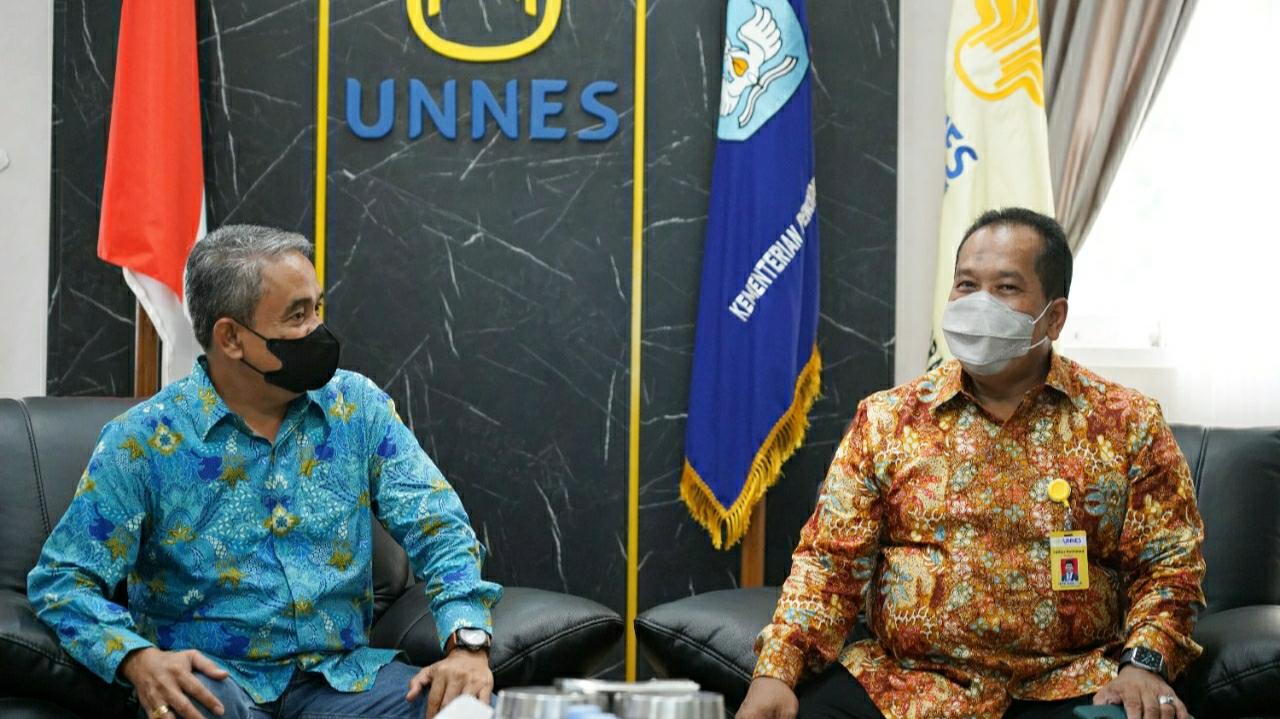 UNNES Terima Kunjungan UNIKA, Dr Ferdinandus: Kami Tidak Mau Kehilangan Pundak UNNES